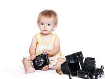 First step photographer Royalty Free Stock Photography