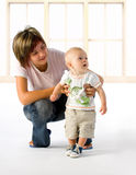 First Steps Stock Images