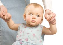 The first steps Royalty Free Stock Images