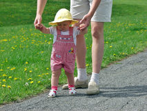 First steps Royalty Free Stock Photo
