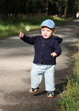 First Steps Child Royalty Free Stock Images