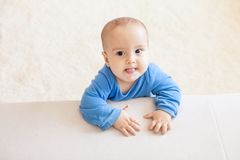 Cute toddler boy Stock Images