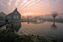 Sunrise on Zaanse Schans