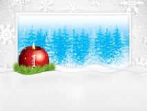 First sunday in advent concept background royalty free illustration
