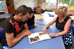 First Syrian Refugees Settle in New Zealand Royalty Free Stock Photography