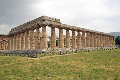 First Temple of Hera, Paestum, Italy Stock Photography