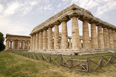 First Temple of Hera, Paestum, Italy Stock Photos