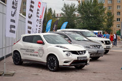 For the first time in Tyumen 18.08.2013 grandiose Nismo G-Drive Stock Images