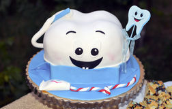 First tooth cake stock images