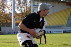 First training of the Catalans dragons Stock Images