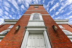First Unitarian Church - Burlington, Vermont Stock Images