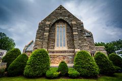 First United Methodist Church in Hanover, Pennsylvania. Royalty Free Stock Images