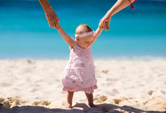 First vacation Royalty Free Stock Images