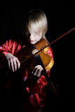 First violin Royalty Free Stock Photography