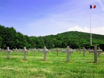 First War Cemetery Royalty Free Stock Photo
