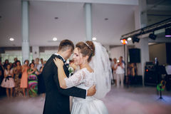 First wedding dance Stock Photography