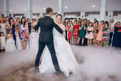 First wedding dance Royalty Free Stock Image