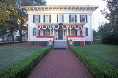 �First White House� for Confederates in Montgomery, Alabama Royalty Free Stock Photography