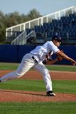 First of 8 windup pictures of Czech pitcher royalty free stock photos