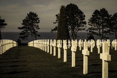 First World War Cemetery royalty free stock photos