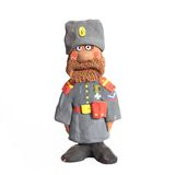First World War clay Russian Solder Royalty Free Stock Photography