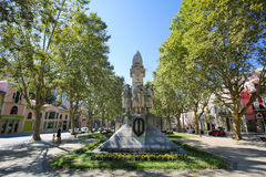 First World War Memorial in Coimbra, Portugal Stock Image
