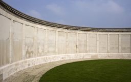 A First World War memorial wall Stock Images