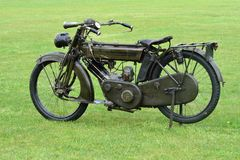 First world war motorbike Royalty Free Stock Photography