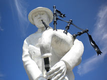 First World War Piper Memorial, Longeuval, Somme battlefield Royalty Free Stock Photography