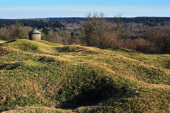 First world war Verdun battlefield