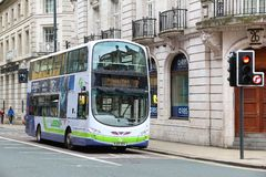 FirstBus double decker Stock Photos