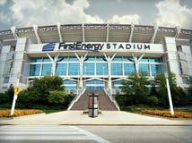 FirstEnergy-Stadion Cleveland, Ohio lizenzfreie stockbilder
