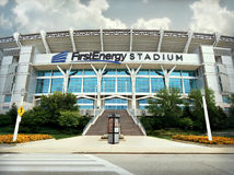 FirstEnergy Stadium Cleveland, Ohio royalty free stock images