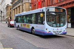 FirstGroup city bus Stock Photography