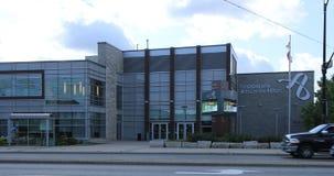 FirstOntario艺术在米尔顿,安大略,加拿大4K集中 股票录像