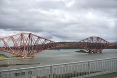 Firth d'en avant jettent un pont sur - l'Ecosse Images stock