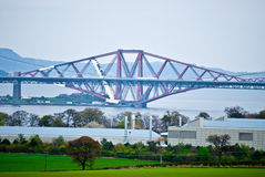 Firth of Forth. The bridges over the Firth of Forth in Scotland Stock Photo