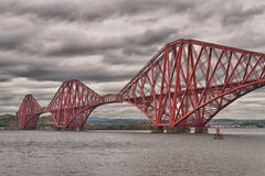 Firth of Forth Bridge, Scotland, United Kingdom Stock Photos