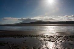 Firth van Solway stock afbeeldingen