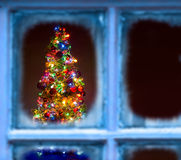 Firtree Χριστουγέννων Στοκ εικόνες με δικαίωμα ελεύθερης χρήσης