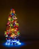 Firtree Χριστουγέννων Στοκ φωτογραφία με δικαίωμα ελεύθερης χρήσης