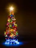 Firtree Χριστουγέννων Στοκ Εικόνες