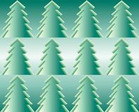 Firtrees, seamless pattern. The image can be used as a New YearChristmas postcard, wallpaper for your site and other Stock Photos