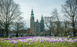 Firtst day of spring in Copenhagen Royalty Free Stock Image