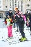 FIS世界雪天 免版税库存照片