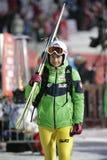FIS跳台滑雪的世界杯在扎科帕内2016年 库存图片