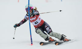 FIS Europa Cup - Women's Slalom Royalty Free Stock Photography