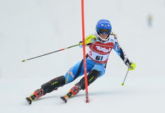 FIS Europa Cup - Women's Slalom Stock Photography