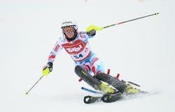 FIS Europa Cup - Women's Slalom Royalty Free Stock Photo