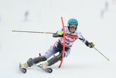 FIS Europa Cup - Women's Slalom Royalty Free Stock Photos